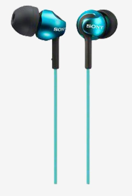 Sony MDR-EX110SP/L Sealed In the Ear Turquoise (Blue)