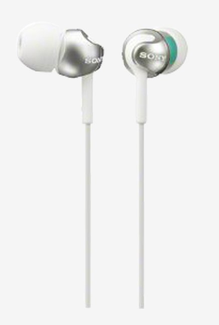 Sony MDR-EX110SP/W Sealed In the Ear Headphone (White)