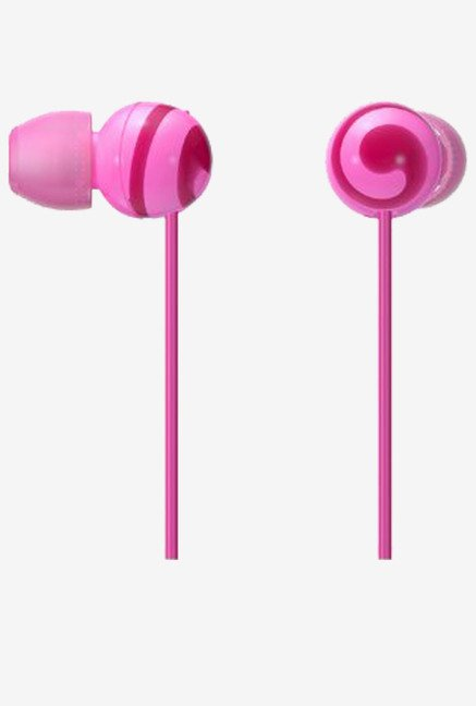 Sony CUTE MDREX20LP PJ Stereo Headphones (Pink)
