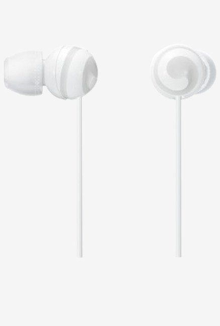 Sony CUTE MDR-EX20LP W Stereo Headphones (White)