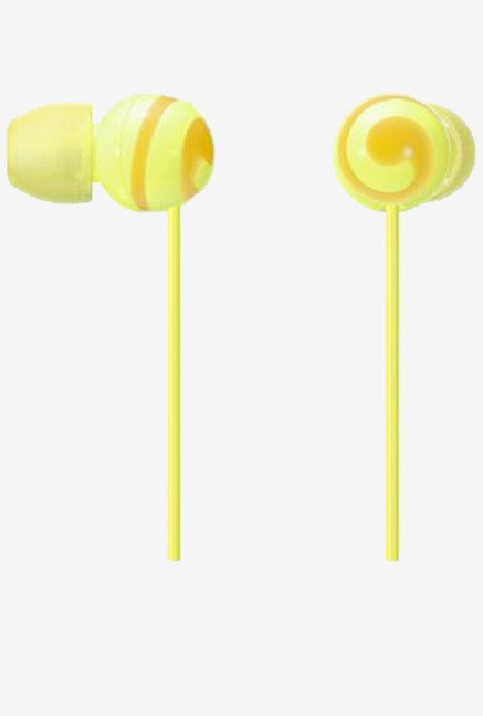 Sony CUTE MDR-EX20LP Y Stereo Headphones (Yellow)