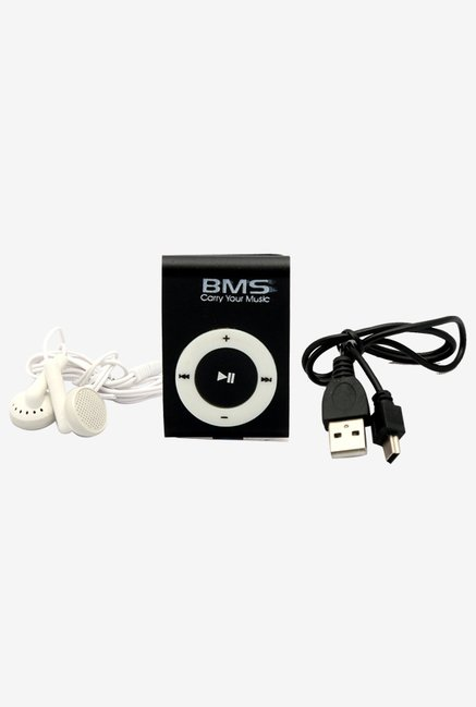 BMS Edge Multimedia MP3 Music Player (Black)