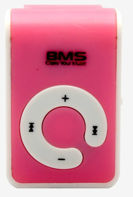 BMS Pro Mulitimedia MP3 Music Player (Pink)