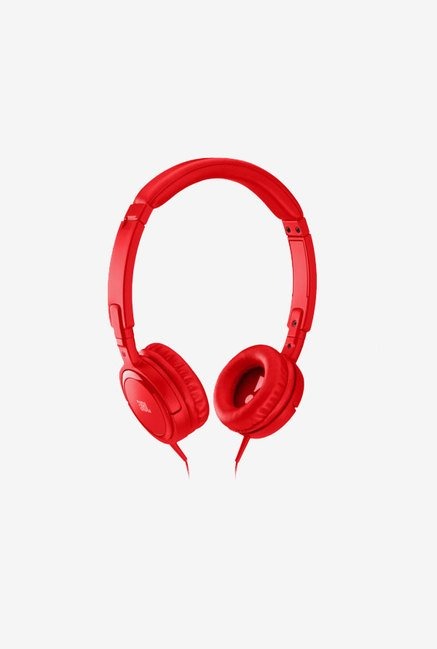 JBL Tempo On the Ear Headphone (Red)