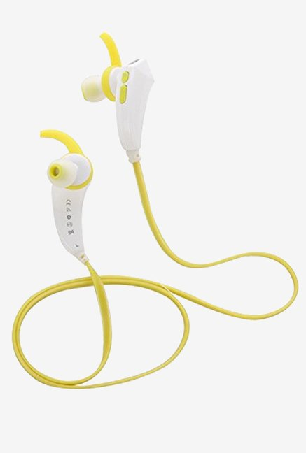 Bluetooth 4.1 FT763R Stereo Sport Earphone (Yellow)