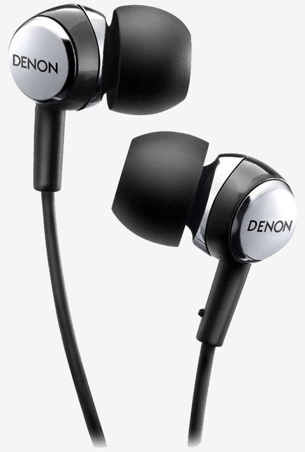 Denon AH-C260 In the Ear Headphone (Black)