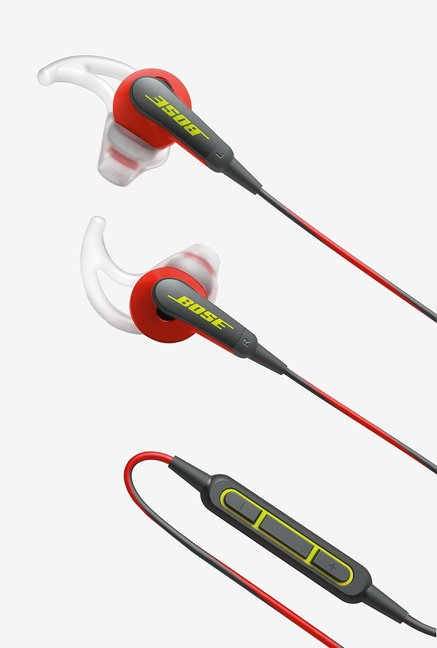 Bose SoundSport In the Ear Headphones with Mic (Power Red)