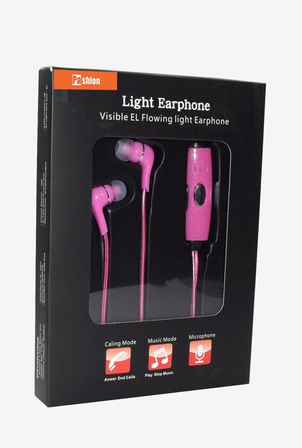 Pashion LED Flashing Headphone (Pink)