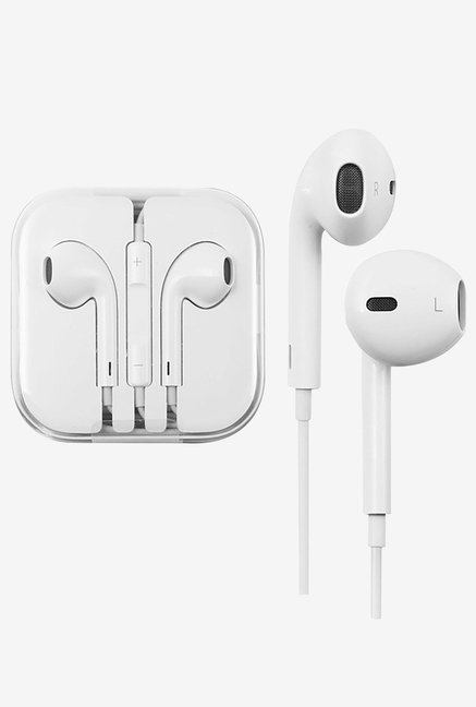 Generic Earpods-4 Hands Free Earpods Wired Headset (White)