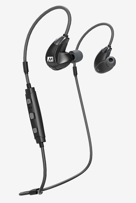 MEE Audio EP-X7Plus-BK-MEE Blueooth Headphones (Black)