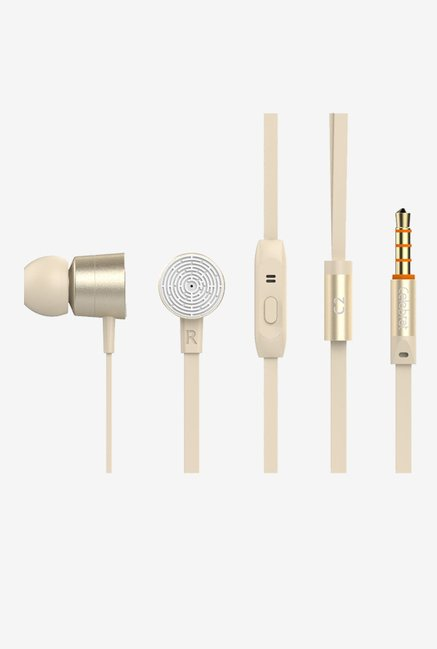 GranVela C2 Noise lsolation In the Ear Earphone (Gold)