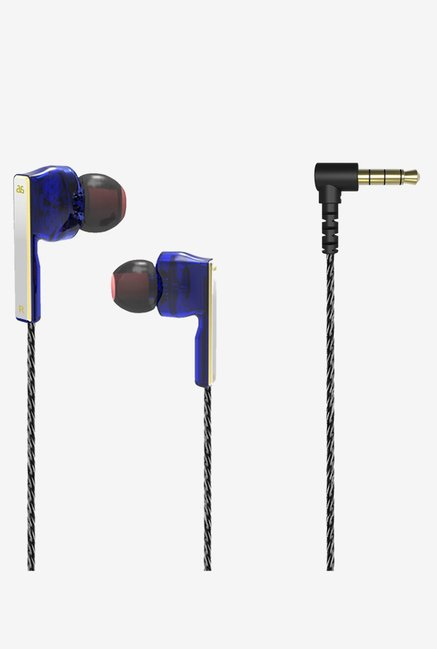GranVela AS-V2 Symphonic-Driver In the Ear Earphones (Blue)
