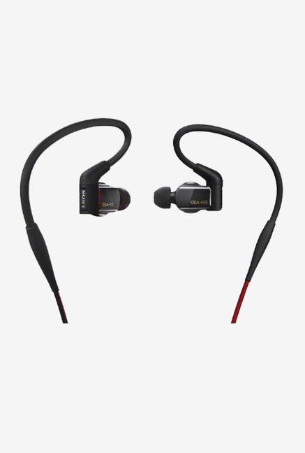 Sony XBAH3 Hybrid 3-way Driver In The Ear Headphones