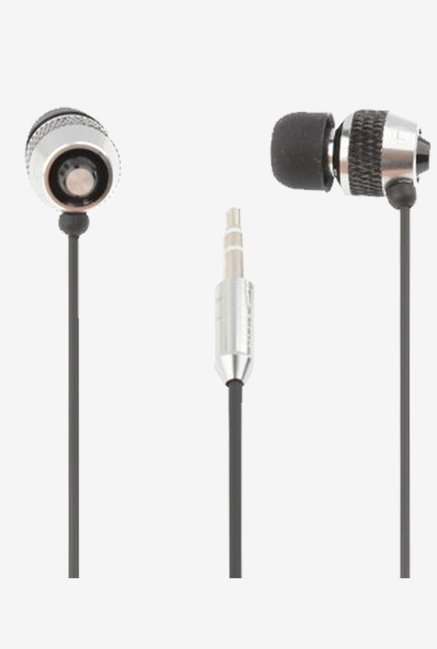 Sony Logo 3.5MM Plug In The Ear Earphone (Silver)