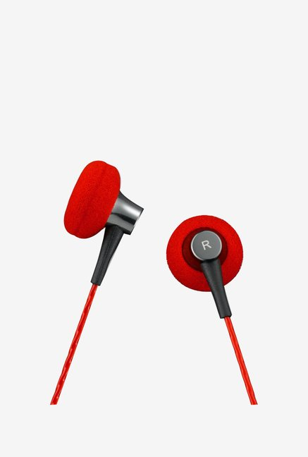 GranVela C1S VJJB Enhanced Bass In the Ear Headphone (Red)