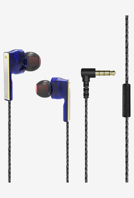 GranVela AS-V2 Stereo Noise Isolation Earphones (Black)