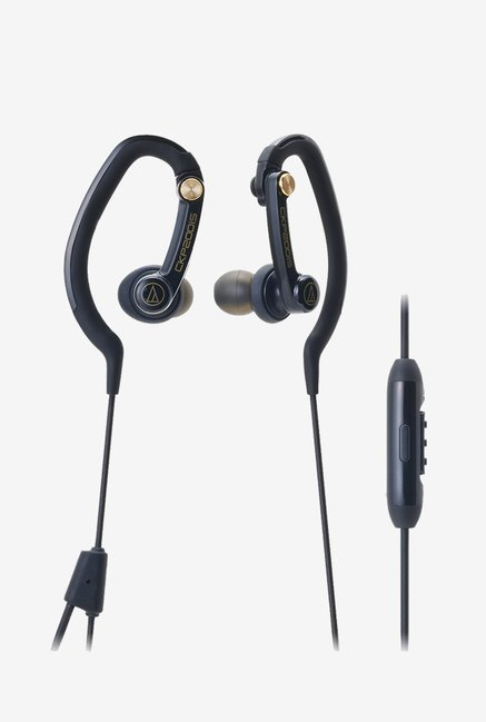 Audio Technica ATH-CKP200iS Sport Fit Headphones (Black)