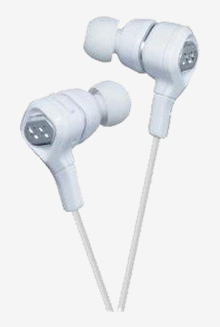 JVC Noise Canceling In The Ear  Bass Stereo Headphones (Silver)