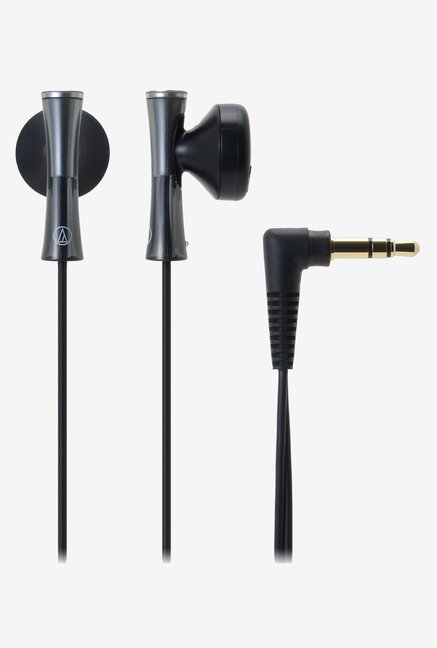 Audio Technica ATH-J100 BK In the Ear Headphones (Black)