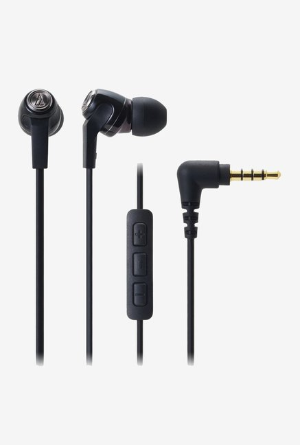 Audio Technica ATH-CK323i for ipod, iphone & ipad (Black)