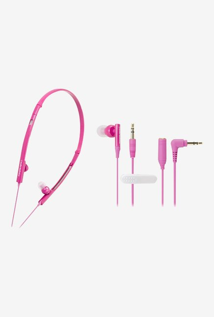 Audio Technica ATH-CKP330 PK In the Ear Headphone (Pink)