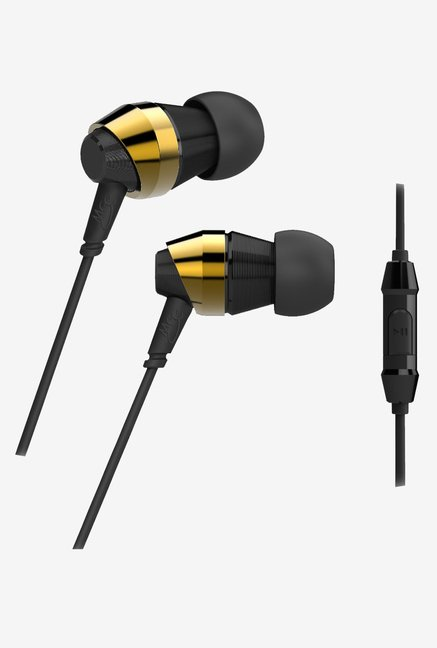 MEE Audio M-Duo Dual In The Ear Headphone, Gold