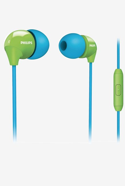 Philips SHE3575BG/10 In The Ear Headset (Blue/Green)