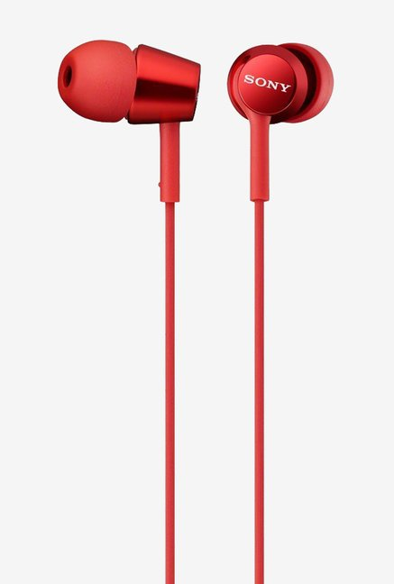 Sony MDR-EX150/R In The Ear Headphones (Red)
