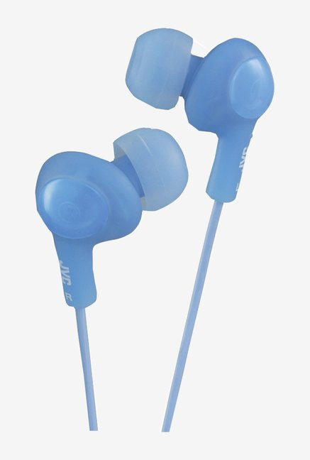 JVC HAFX5A Gumy Plus In The Ear Headphones (Blue)