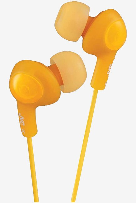 JVC Stereo In The Ear Lightweight Headphones (Orange)
