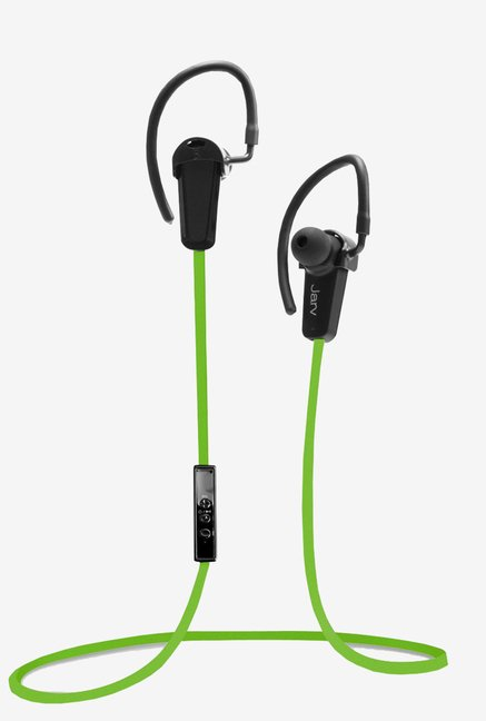 Jarv NMotion BTHL-201GRN Bluetooth Earbuds with Mic (Green)