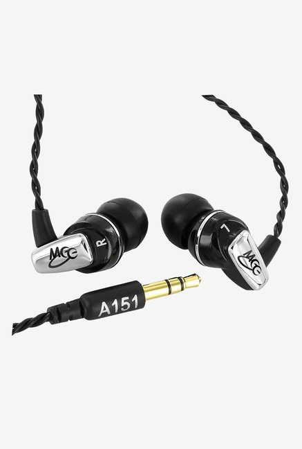 MEE Audio A151 Balanced Armature In The Ear Headphones (Black)