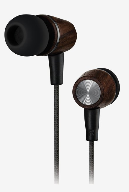 NoiseHush NX90-12757 In the Ear Earbuds (Genuine Wood)