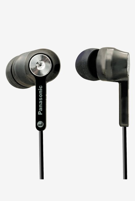 Panasonic RP-HC31E-K Ergo Fit Noise Cancelling Headphone