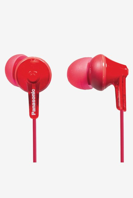 Panasonic RP-HJE125-R Headphones (Red)