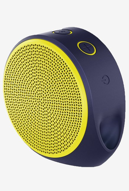 Logitech X100 Bluetooth Wireless Speaker (Yellow)