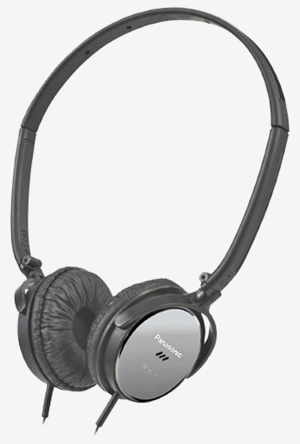 Panasonic RP-HC101-K On-Ear Noise Canceling Headphones (Black)