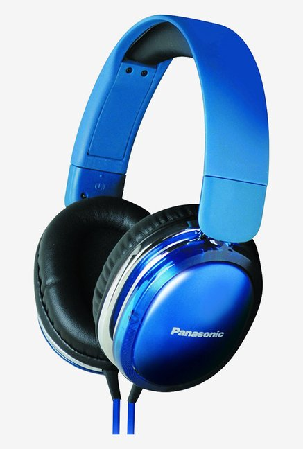 Panasonic RP-HX450C-A Monitor Headphones (Blue)