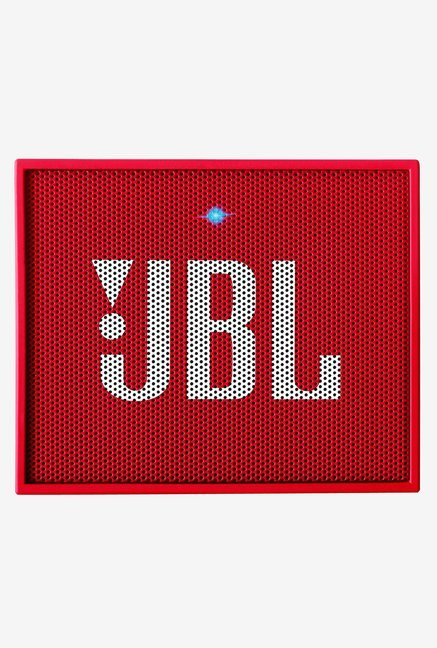 JBL GO Portable Wireless Bluetooth Speaker (Red)