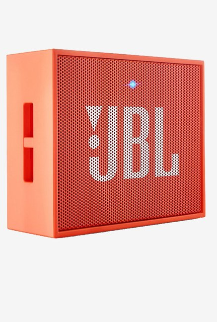 JBL GO Portable Wireless Bluetooth Speaker (Orange)