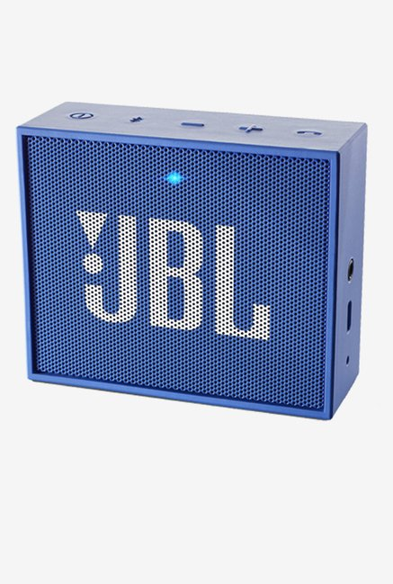 JBL GO Portable Wireless Bluetooth Speaker (Blue)