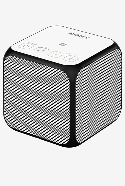 Sony SRSX11 Compact Portable Wireless Speaker (White)