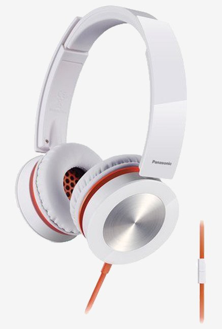 Panasonic 40mm Stereo Water-Resistan Headphones (White)
