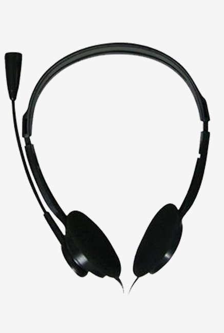 Zebronics ZEB-1000HMV On The Ear Headphone (Black)