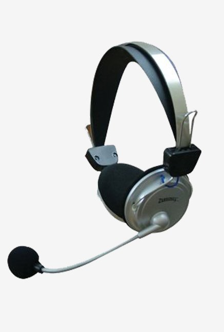 Zebronics H-1000HMV Computer MM On The Ear Headphone (Black)
