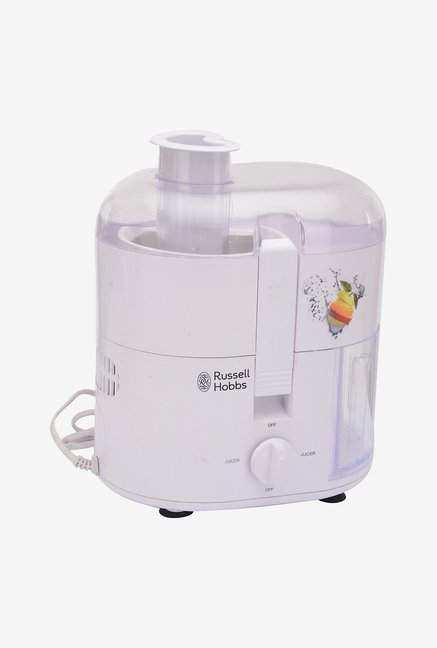 Russell Hobbs RJE400E 400 W Juicer Extractor (White)