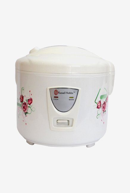 Russell Hobbs RRC18CT 1.8 L 700 Watt Rice Cooker (White)