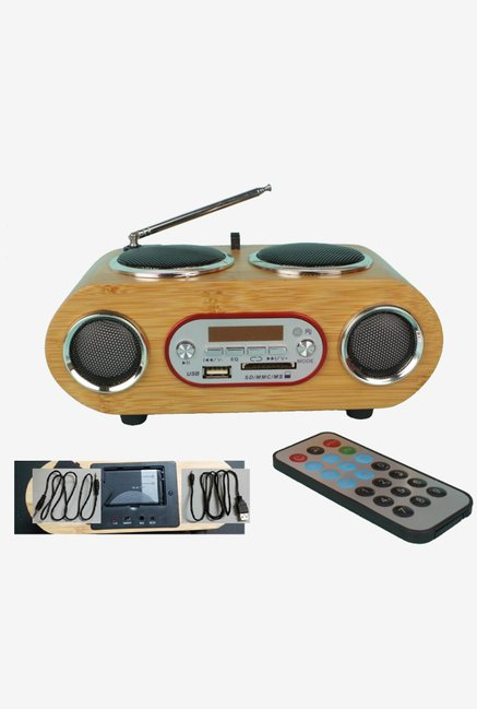 LEAFer CA-ELE-MUS-1 Multimedia Player (MP3) Radio (Black)