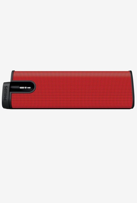 Philips SBA 1610 Portable Speaker (Red)