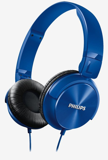 Philips SHL3060BL/00 On the Ear Dynamic Sound (Blue)